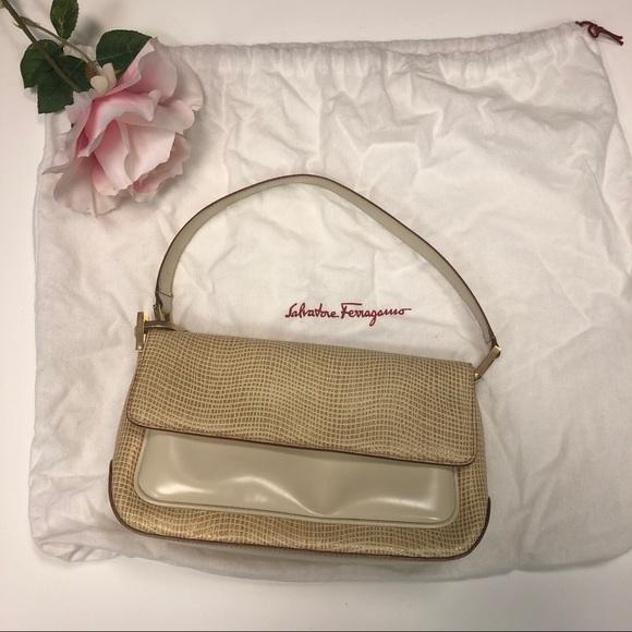 50ef591daa6a Authentic Salvatore Ferragamo Shoulder Bag